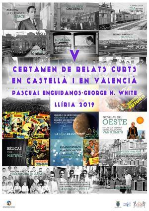 V Certamen de relatos cortos en castellano y valenciano 'Pascual Enguídanos - George H. White' 2019